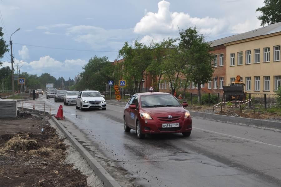 Реконструкция Ленина в Бердске: водители недовольны