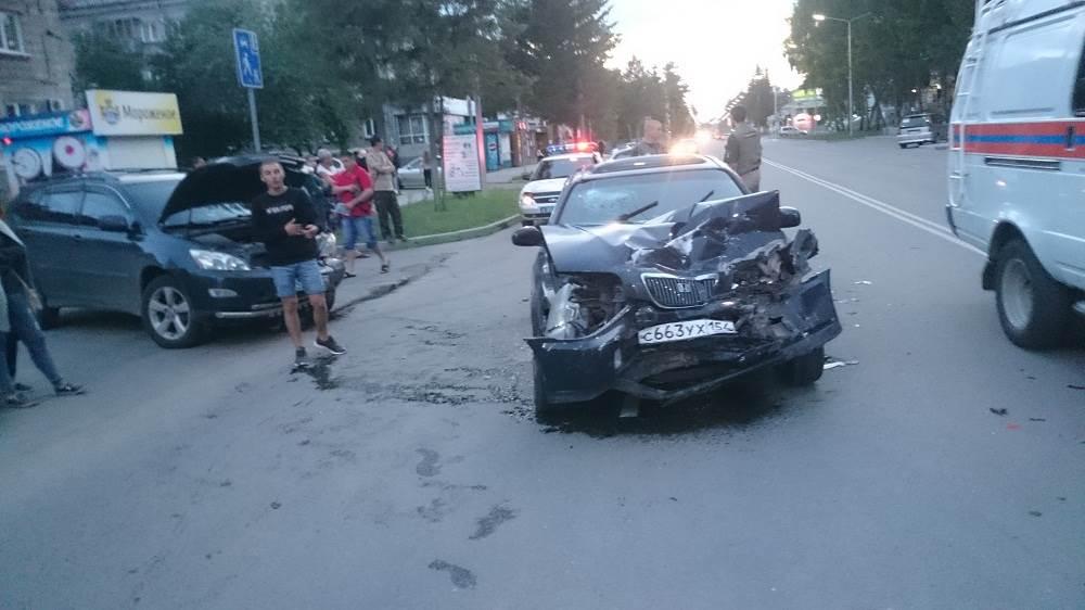 «Левый поворот» в Бердске закончился ДТП с пострадавшим