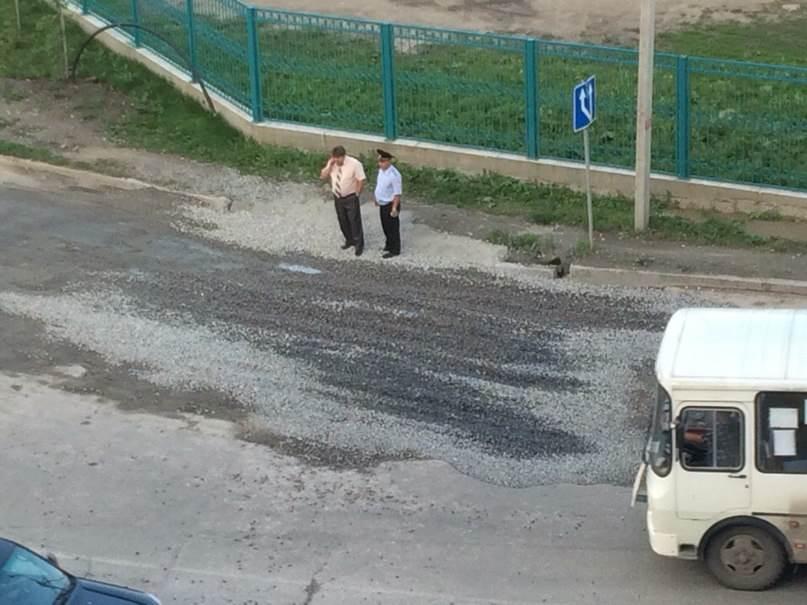 Мэр Бердска посетил дефективный участок на ул. Первомайской (фото, видео)