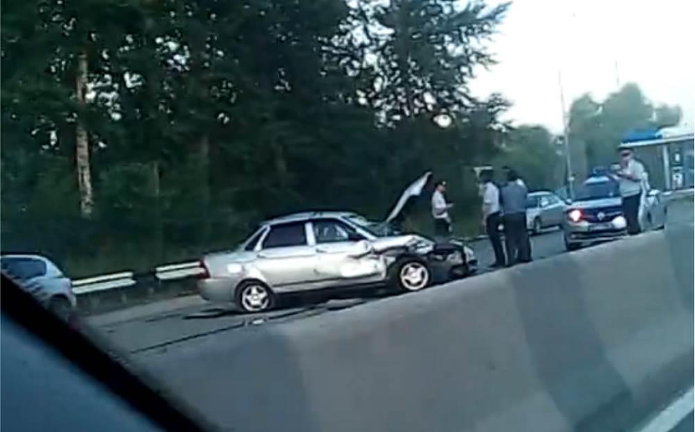 20-летний пассажир «Лады» погиб в ДТП в Новосибирске