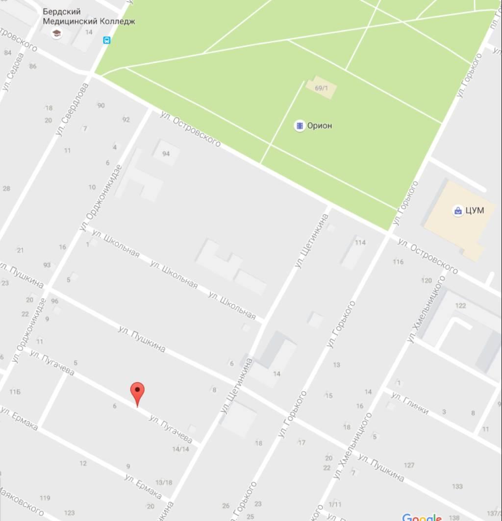 Люди и Субару XV не пострадали в ночном пожаре на Пугачёва в Бердске