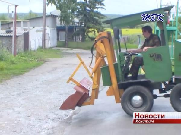 Сделано в Искитиме: житель райцентра собрал трактор