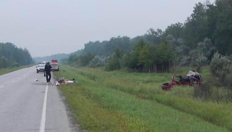 Страшное ДТП на трассе в НСО: 4 человека погибли