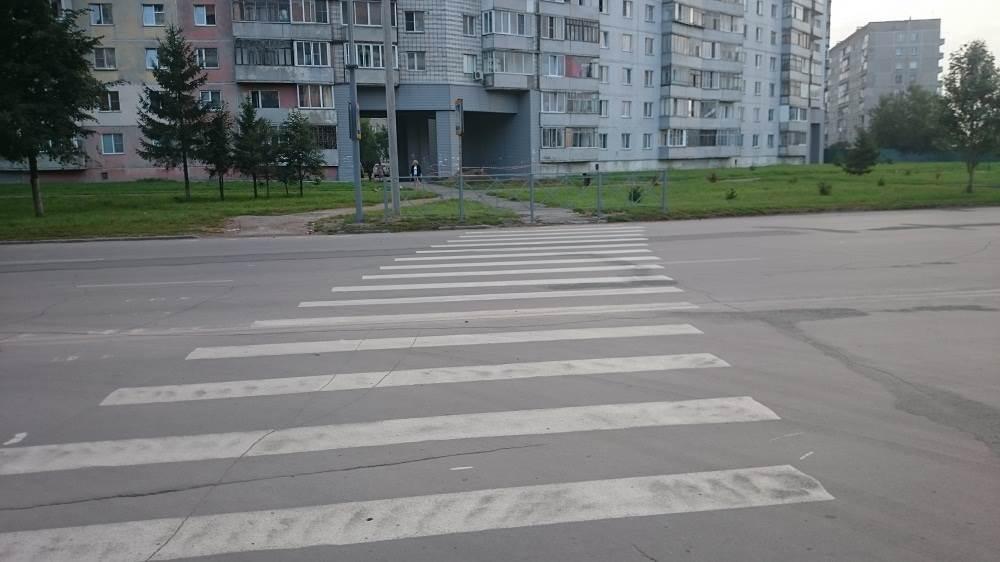 «Тойота» сбила пешехода на «зебре» в Бердске