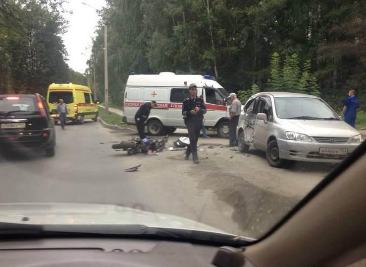 Пострадавшему в ДТП в Академгородке мотоциклисту требуются свидетели инцидента