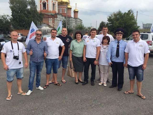 Автопробег «Создавая здоровое будущее»: Омск-Искитим