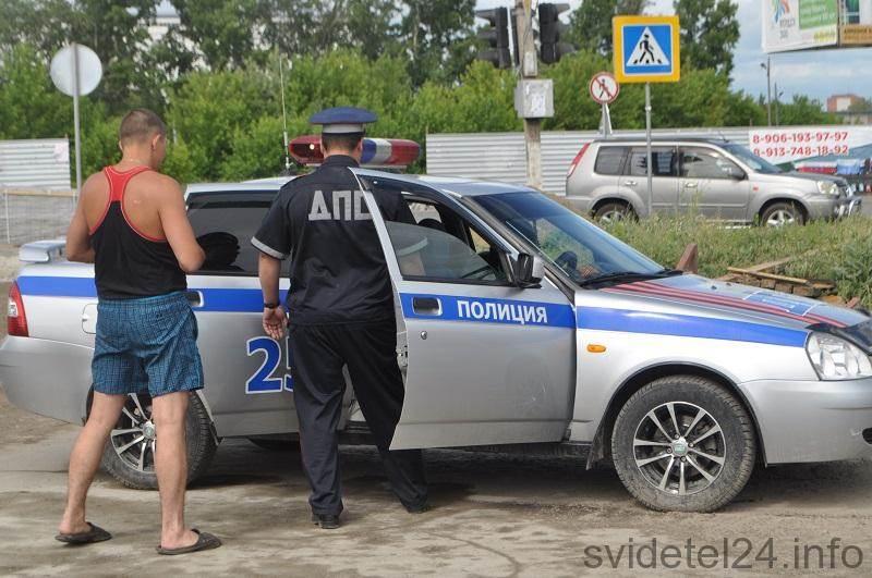 Бердская ГАИ будет выявлять должников на дороге