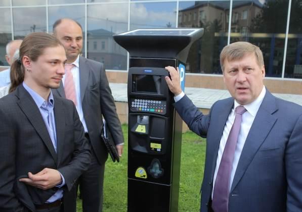 700 млн рублей потратит мэрия Новосибирска на платные парковки
