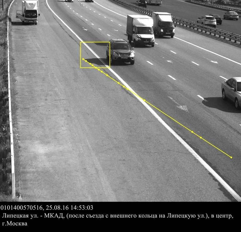 Камера фотофиксации «поймала» на нарушении ПДД тень автомобиля