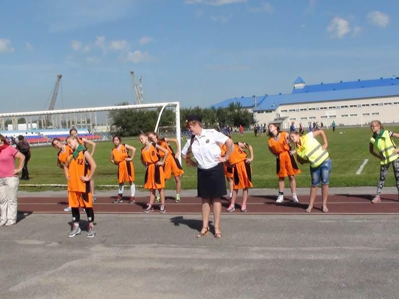 Фотофакт: Госавтоинспекторы Новосибирской области за здоровый образ жизни