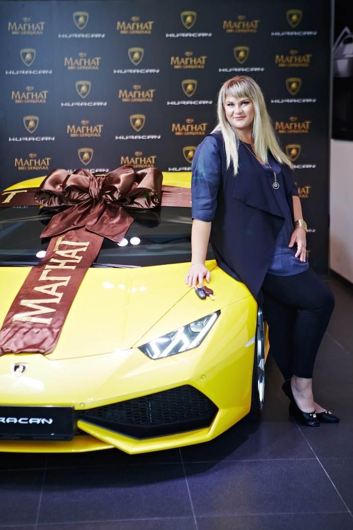 Lamborghini Юлии Сорокиной от «Магната» скоро приедет в Искитим