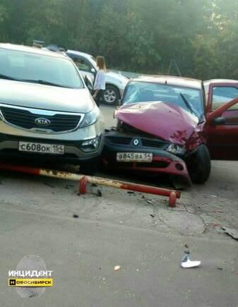 В Заельцовском районе Новосибирска произошло ДТП со смертельным исходом
