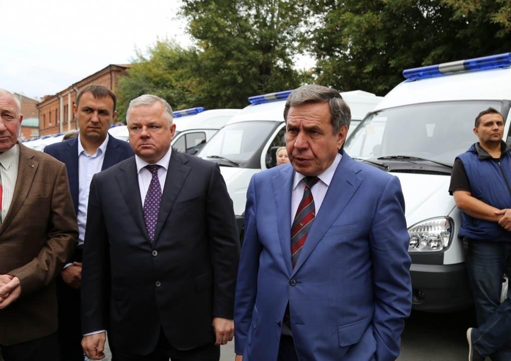 Куда уедут автомобили скорой помощи от Городецкого?