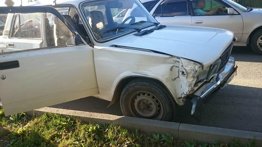 Дедушка пострадал в столкновении ВАЗа и «Хонды» в Бердске