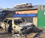 Бердчанин поджёг авто и попытался покончить с жизнью
