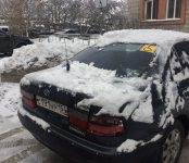 Фотофакт: Коммунальщики «припарковали» сугроб на месте для инвалидов в Бердске