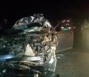 Пенсионеры на иномарке «догнали» попутный трактор и погибли