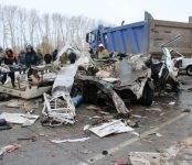 Два работника скорой помощи погибли в массовом ДТП на трассе в Коченёвском районе