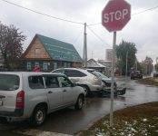 Утомлённая женщина-водитель устроила тройное ДТП в Бердске