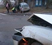 Очередное ДТП с пострадавшим на перекрёстке в Бердске