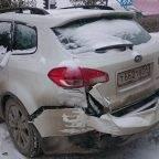 Улица Суворова в Бердске «собрала» сегодня три ДТП