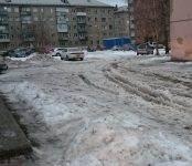 Коммунальщики планируют ночью очистить от «каши» Северный микрорайон Бердска