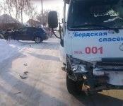 Четыре автомобиля не разобрались с проездом по перекрёстку в Бердске