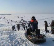 МЧС напоминает: Зима, тонкий лед и опасный снегоход
