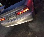 Водитель Хонды Торнео в Бердске разбил чужой авто и уехал с места происшествия