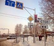 Фотофакт: Несмотря на мороз в Бердске заработали «дачные» светофоры