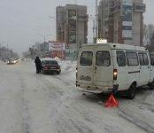 Искитимский таксист таранил бердскую маршрутку в центре Бердска