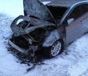 «KIA Ceed» в Бердске уничтожен в результате поджога