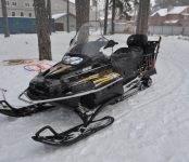 Сотрудники бердского ПСО спасли мужчину, упавшего со снегохода на льду Обского моря