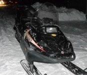 Разбился насмерть пассажир снегохода под Новосибирском