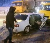Пять человек пострадали в ДТП с пассажирским микроавтобусом в Бердске