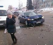 В ДТП у пешеходного перехода в Бердске травмирована 5-летняя девочка