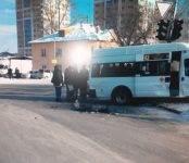 В Советском районе произошло ДТП с участием пассажирского транспорта