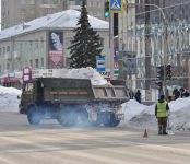Официально: В выходные в Бердске будет проходить массовая уборка снега