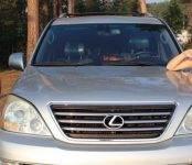 В Бердске под утро 5 марта угнали Lexus GX 470 серебристого цвета