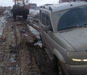 Провалилась проезжая часть улицы Павлова в Бердске