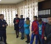 Школьники Бердска пришли на приём к начальнику ГАИ