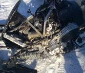 Покатушки на снегоходе в Новосибирской области закончились летальным исходом