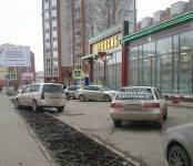 Наезд на пешехода в Бердске спровоцировала белая иномарка с госномером Т 736 КТ