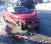В ДТП с маршруткой в Бердске пострадали два человека