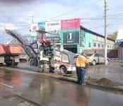 В Бердске начался ямочный ремонт автодорог