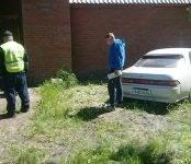 Автомобиль «Марк-II» врезался в стену дома В Агролесе