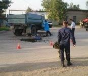 Столкнувшись с грузовиком в Бердске погиб мотоциклист (фото, видео 18+)
