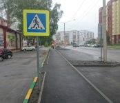 В Бердске появились новые парковочные карманы