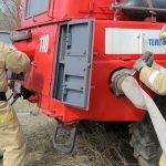 Сгорели вещи в гаражах из-за электрообогревателя в Бердске
