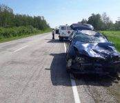 Два человека погибли в столкновении мотоцикла и легковушки